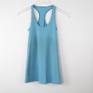 Lululemon Blue Razorback Tank Top